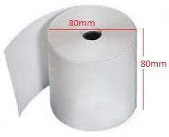Giấy in nhiệt K80x80 (rộng 80mm, đường kính 80mm)
