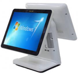 Máy bán hàng cảm ứng 2 màn hình HBAPOS 9000 Cấu hình  j1900