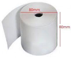 Giấy in nhiệt K80 phi 80 dùng cho máy in hóa đơn