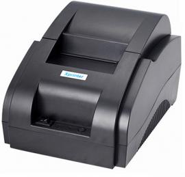 Máy in bill XP-T58K nhỏ giá rẻ In hóa đơn khổ giấy K57