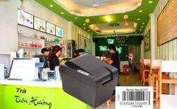 Máy in mã vạch giá rẻ Thích hợp cho kinh doanh Trà Sữa