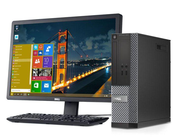 Trọn bộ máy tính bàn Dell I3, màn hình Full HD